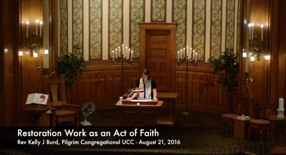 Restoration Work As An Act Of Faith