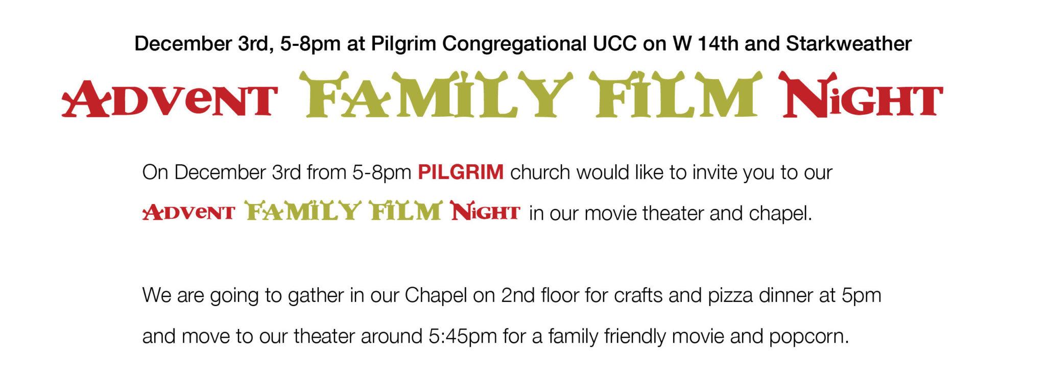 Advent Family Film Night