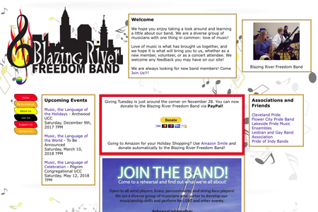 Blazing River Freedom Band