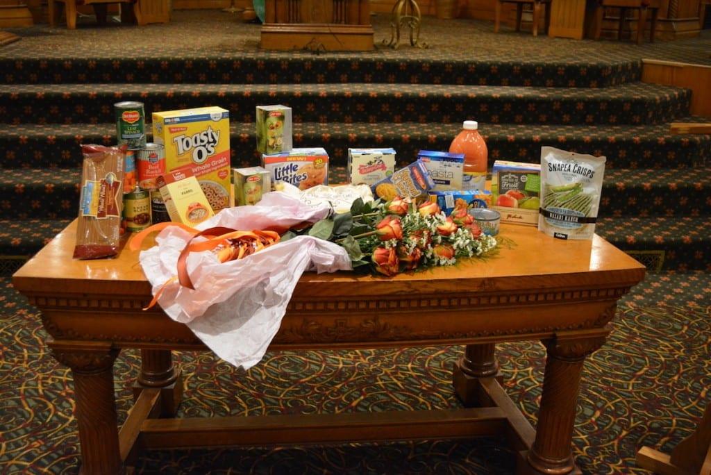 Food Pantry Selection Pilgrim Congregational Ucc