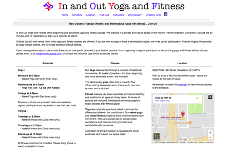 In and Out Yoga and Fitness