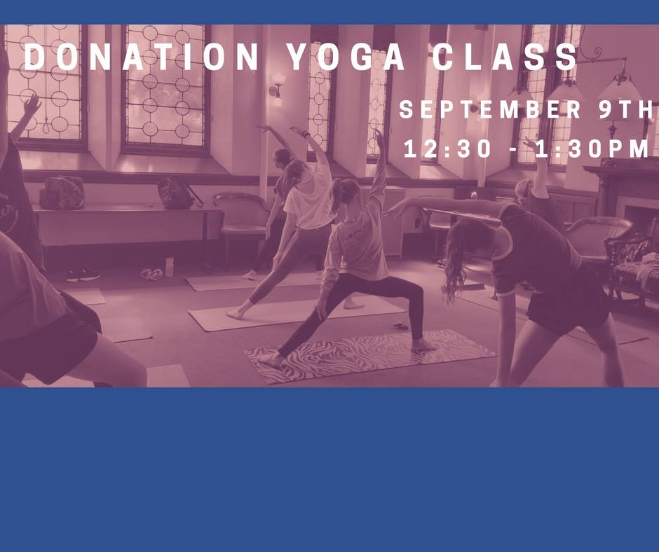 Donation Yoga Class With The Movement Project