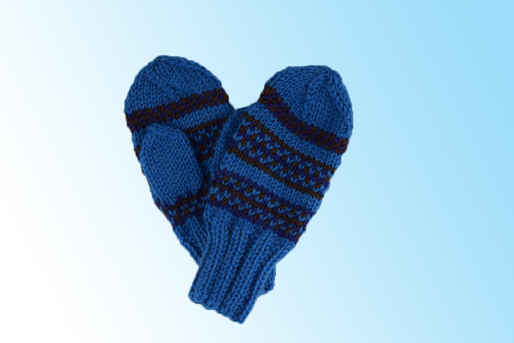 Knit Or Crochet Scarves And Mittens For Kids